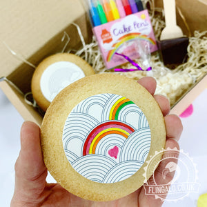 mindfulness colouring biscuit gift box