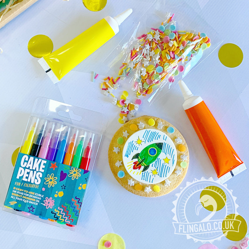 space gift idea biscuit decorating kit