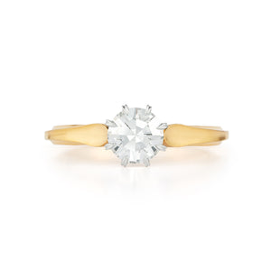 32375 Apersola Eight Cut Diamond Ring