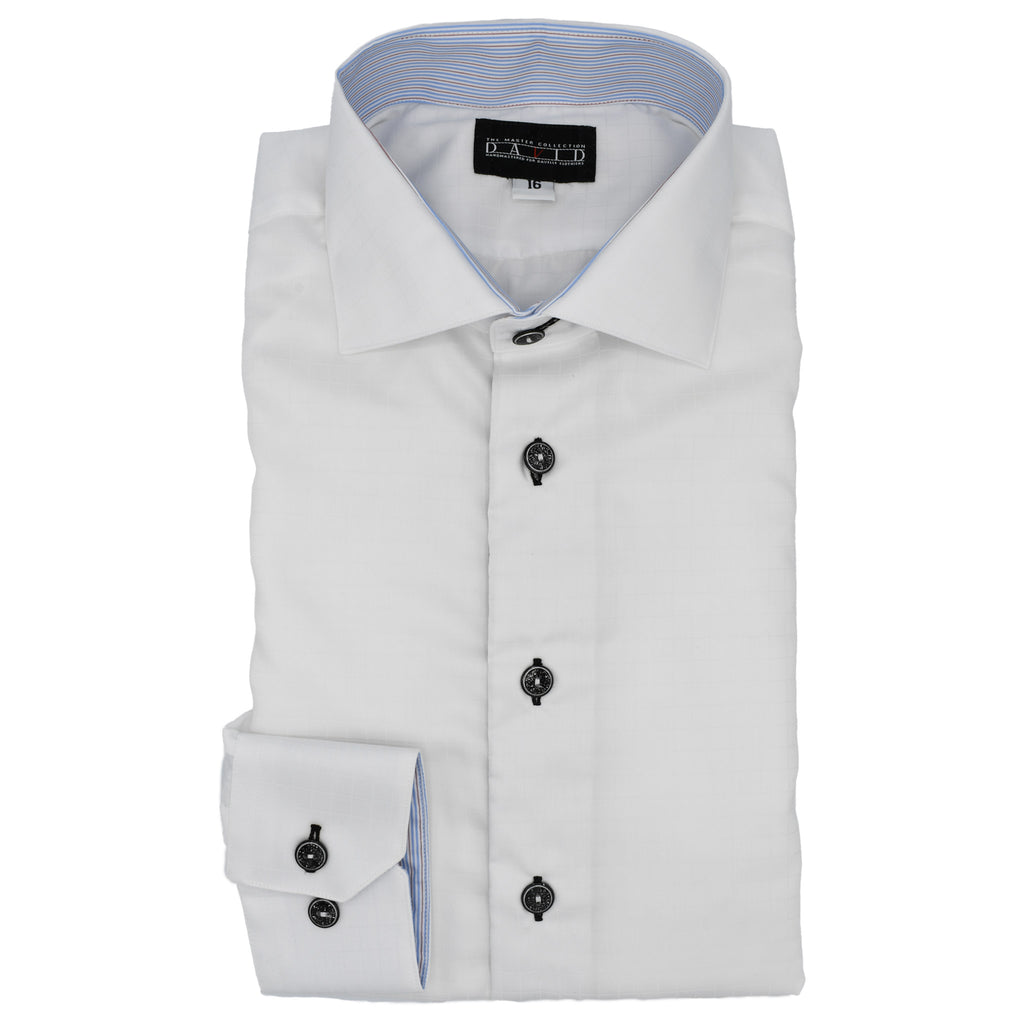 DMC Custom Hybrid White Shadow Check Shirt
