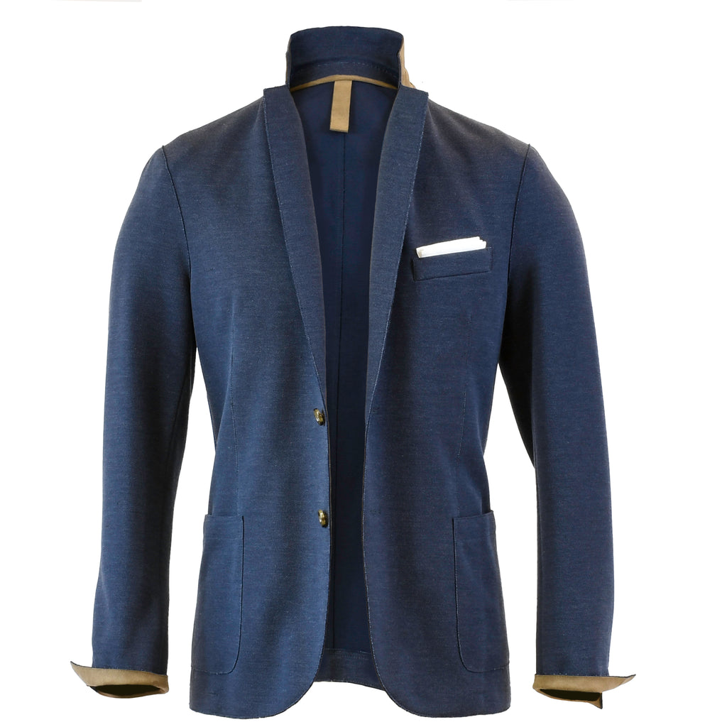 Cotton Pique Laser Cut Sport Coat