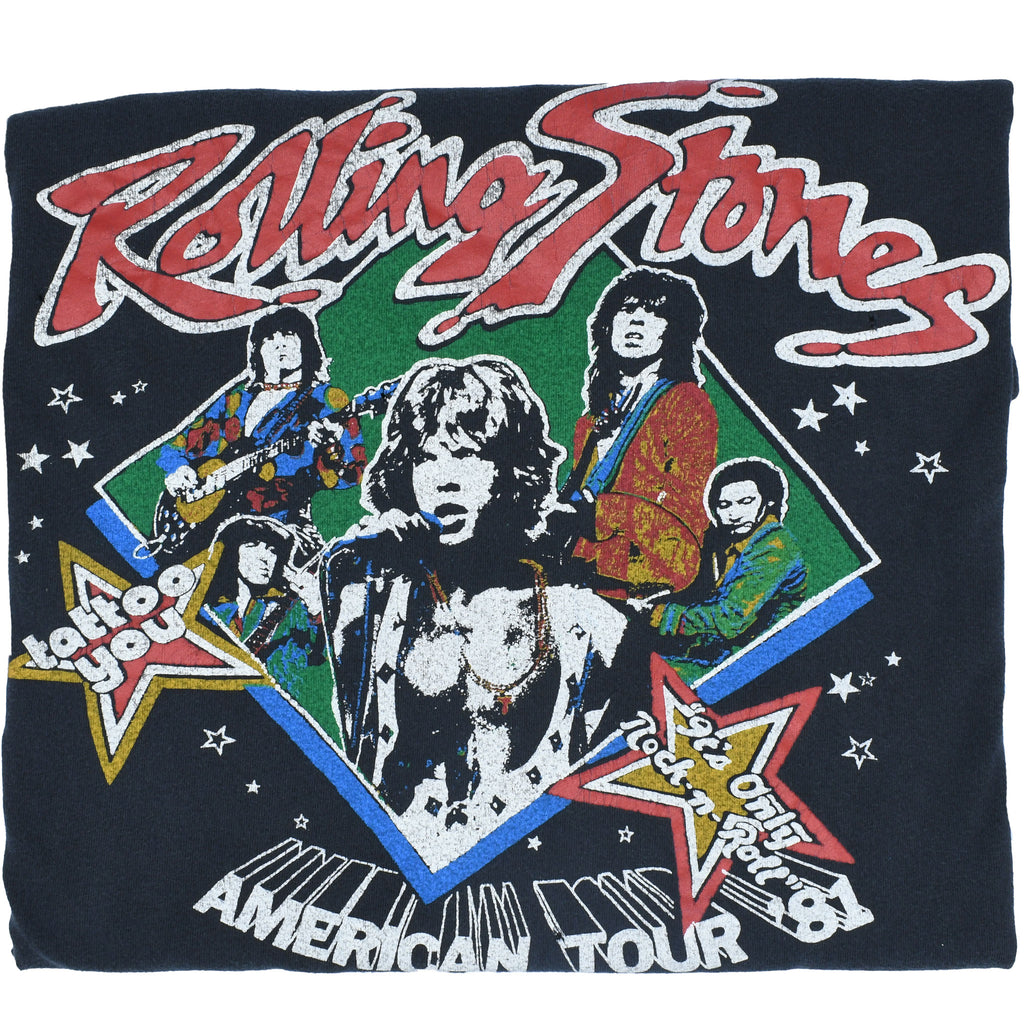 Rolling Stones American Tour '81 T-Shirt