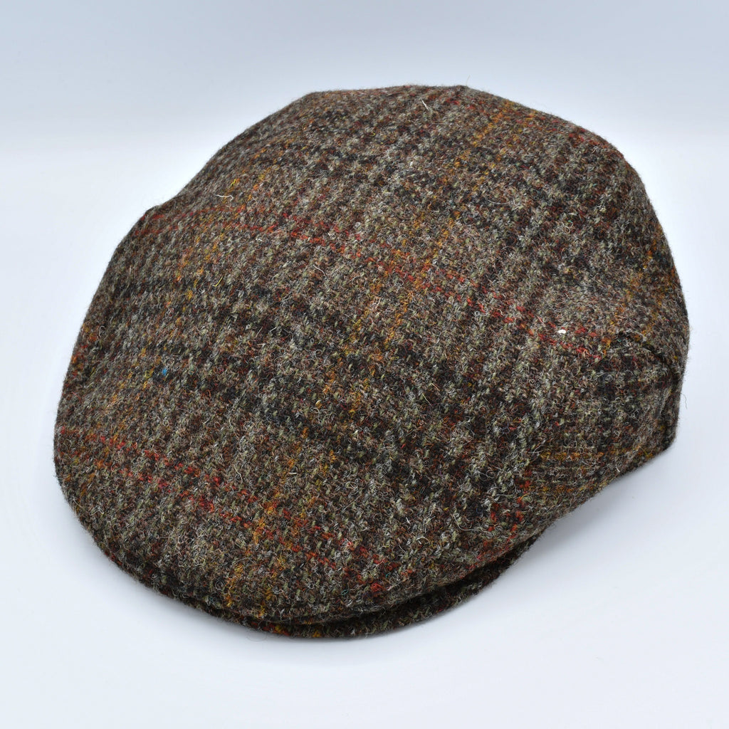 Flavio Earflap Harris Tweed Wool Ivy Cap