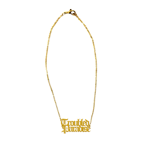 TROUBLED PARADISE NECKLACE