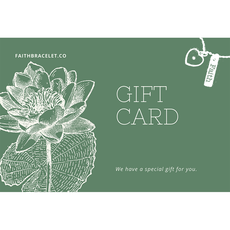 Faith Gift Card