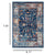 Milan Transitional Design Machine-Made Rug