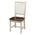 Almond Espresso Wood Finish Dining Chair