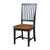 Black Cherry Finish Wood Dining Chair