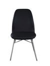 Giovanni Curved-Back Side Chair w/ Sled Base (Set of 2)