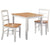 Zora Ezra Solid Wood Top Table Set