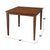 Britta Solid wood Dining Table image 5