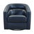 Contemporary Swivel Accent Chair in Genuine Leather image 4