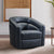 Contemporary Swivel Accent Chair in Genuine Leather image 19
