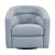 Contemporary Swivel Accent Chair in Genuine Leather image 9
