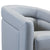 Contemporary Swivel Accent Chair in Genuine Leather image 11