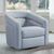 Contemporary Swivel Accent Chair in Genuine Leather image 20