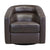Contemporary Swivel Accent Chair in Genuine Leather image 14