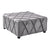 Brantley Contemporary Wooden Leg Ottoman