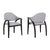 Orville Contemporary Dining Chair (Set of 2)