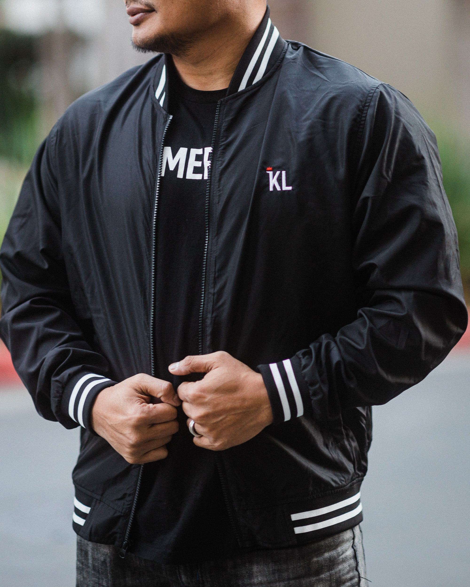 Khmerlife Lightweight Bomber Jacket