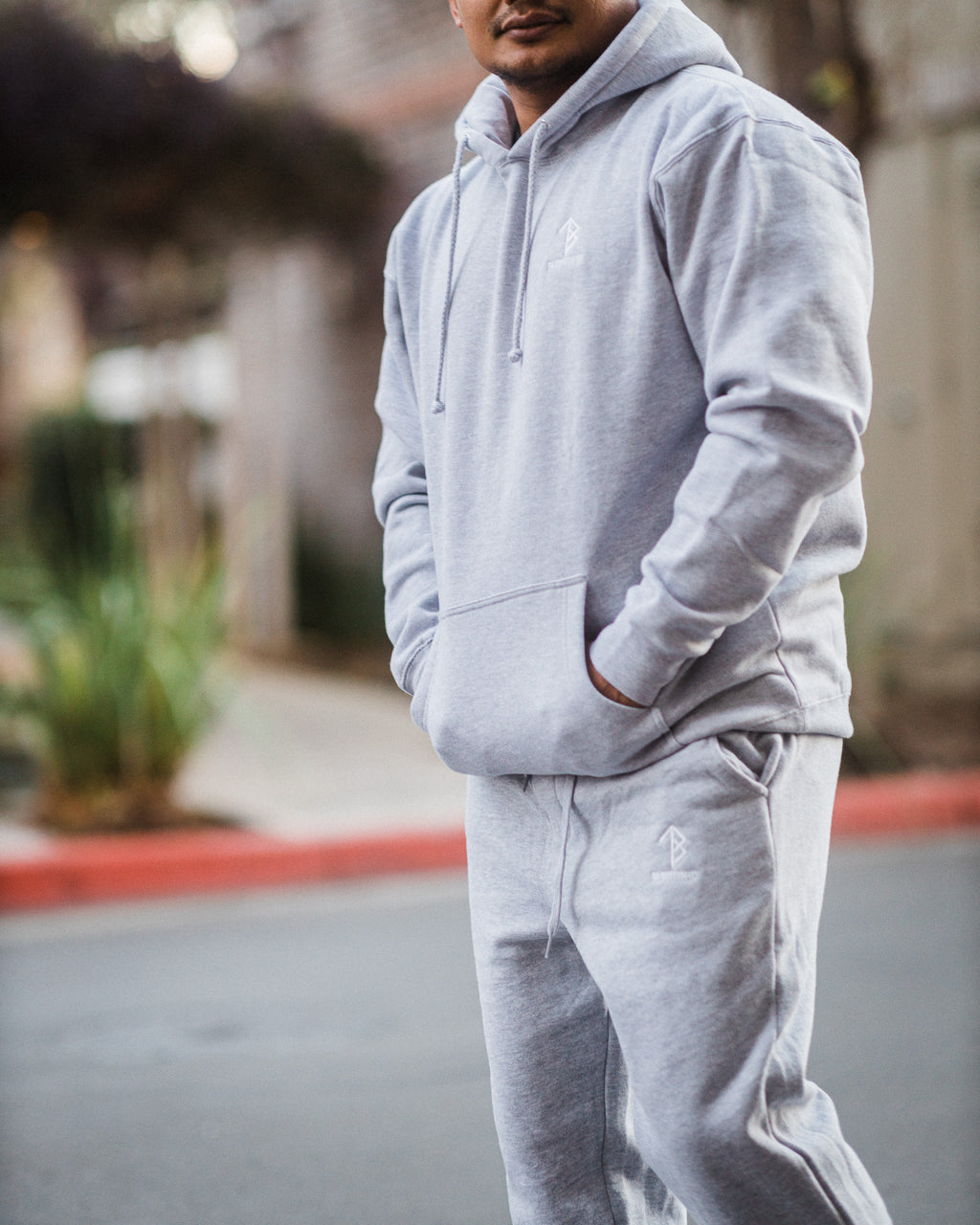 Da Bottom Up Sweatsuit - Grey
