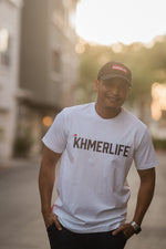 Premium Athletic Slim-fit KhmerLife Logo T-Shirt