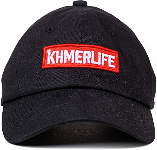 KhmerLife Dad Hat - Black