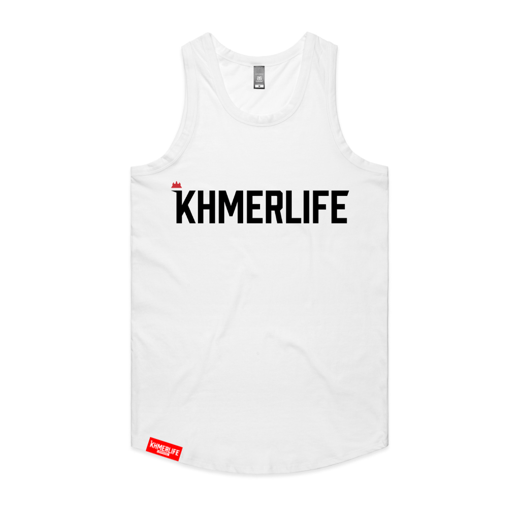 Mens Drop-Cut Tank