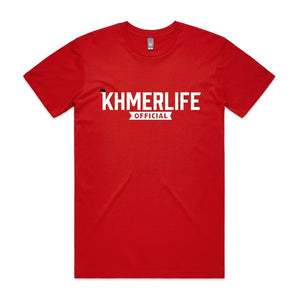 KhmerLife Official Logo T-Shirt