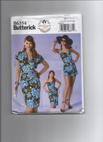 Butterick B6354 vintage style sewing pattern