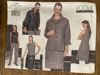 Vogue 2195 Wardrobe jacket, dress, skirt and pants sewing pattern