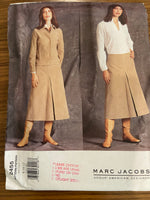 Vogue V 2455 Marc Jacobs jacket, skirt and blouse sewing pattern