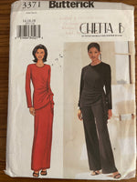 Butterick 3371 2002 sewing pattern top, skirt and pants, designers Peter Noviello and Sherrie Bloom