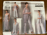 Vogue V2779 Vogue Wardrobe jacket,top, skirt and pants sewing pattern