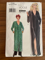 Vogue 7135 vintage 1990s Koko Beall kaftan and pants sewing pattern