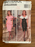 Butterick 6477 vintage 1990s Jessica Howard dress, top and skirt sewing pattern
