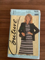 Style 3266 vintage 1980s lined blazer, dress or shirt and skirt sewing pattern