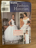 Simplicity 5726 Fashion Historian Martha McCain out of print corset, chemise and petticoat sewing pattern