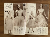 Marion pattern book August 1957, contains many traceable patterns