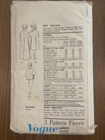 Vogue 5345 vintage  1960s evening stole-coat sewing pattern
