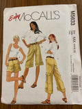 McCall's M5633 2008 shorts and pants in two lengths sewing pattern