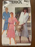 Butterick 4814 Eileen West Vintage 1980s dress pattern