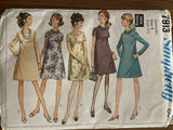 Simplicity 7913 vintage 1960s maternity dress sewing pattern