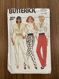 Butterick 4472 vintage 1980s pants pattern