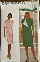 Butterick 4839 vintage 1990s dress, skirt and top sewing pattern