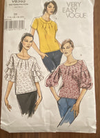 Vogue V8392 Vogue Wardrobe top,  sewing pattern