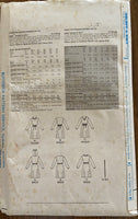 Butterick 3965a Vintage 1980s dress pattern