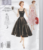 Vogue v2902 reissued vintage 1952 sewing pattern