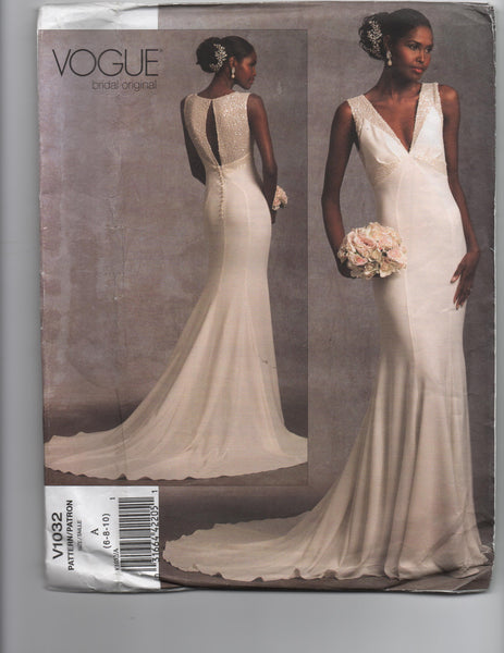Vogue v1032. Bridal original