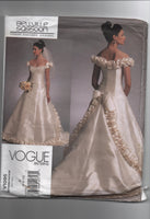 Vogue v1095 Vogue designer original Bellville Sassoon bridal dress pattern